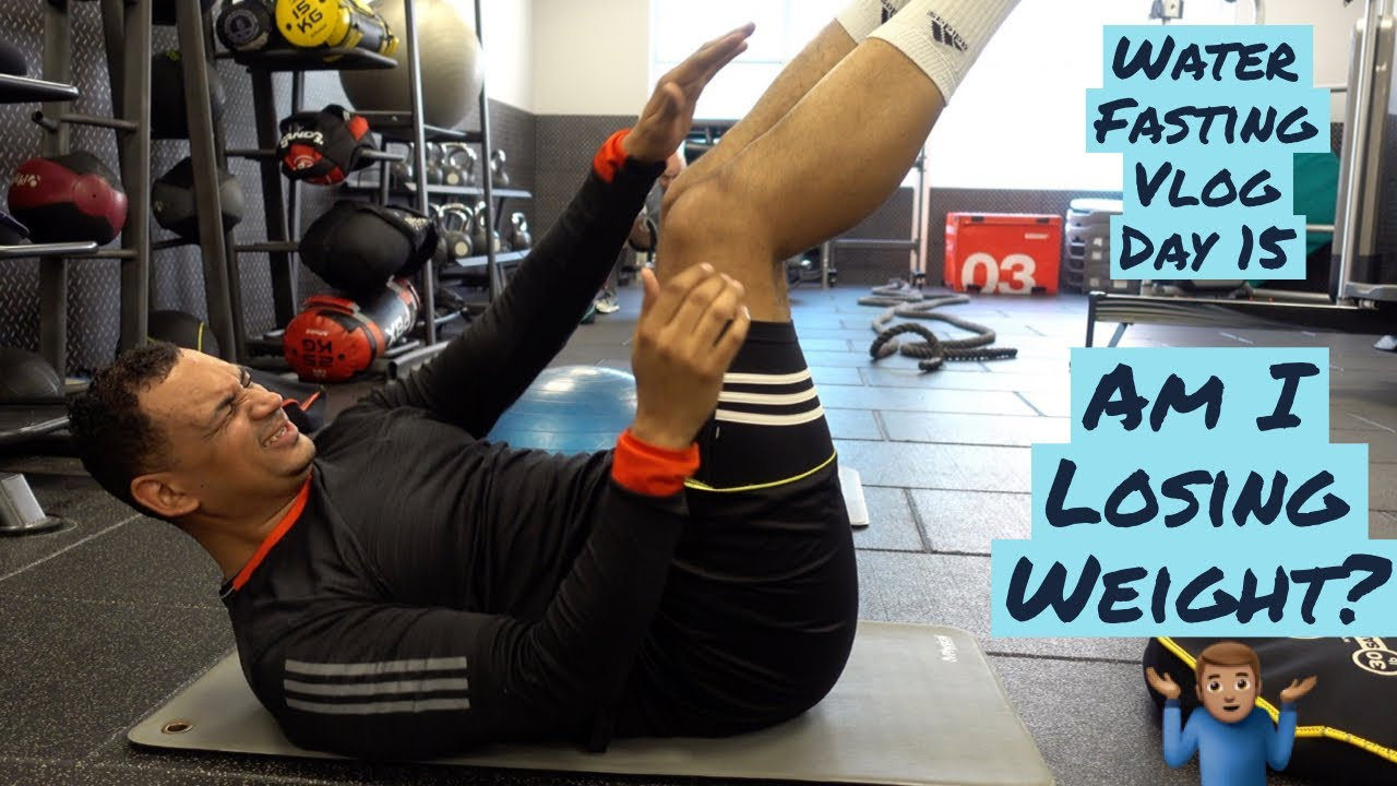 Water Fasting Vlog - Day 15 | Workout For Body Transformation