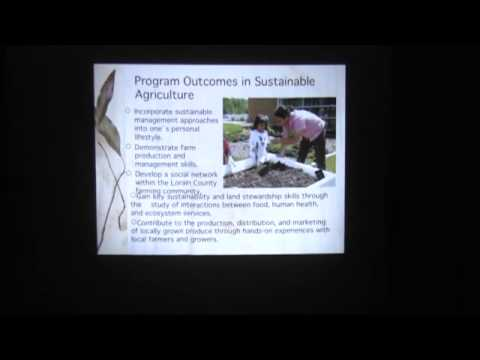 Sustainable Agriculture at Lorain County Community College