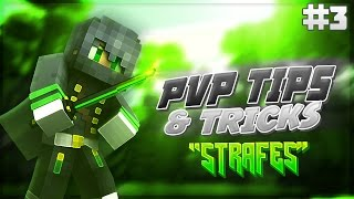 Minecraft: PvP Tips And Tricks #3 - Strafing
