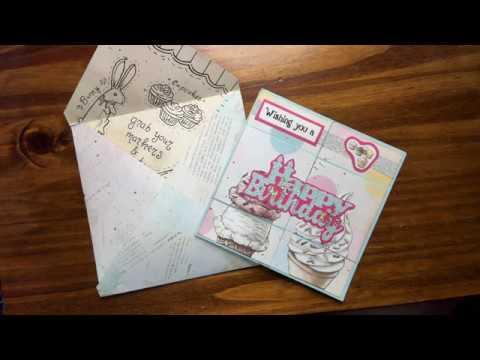 Diy Never Ending Birthday Card Envelope Learn How To Make So Easy