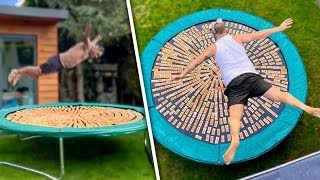 HE DIVED INTO 1000 MOUSETRAPS!!