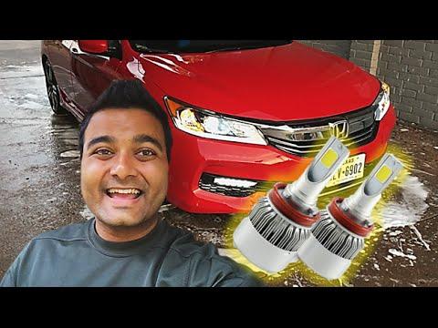 HOW TO Change Headlights 2016 Honda Accord