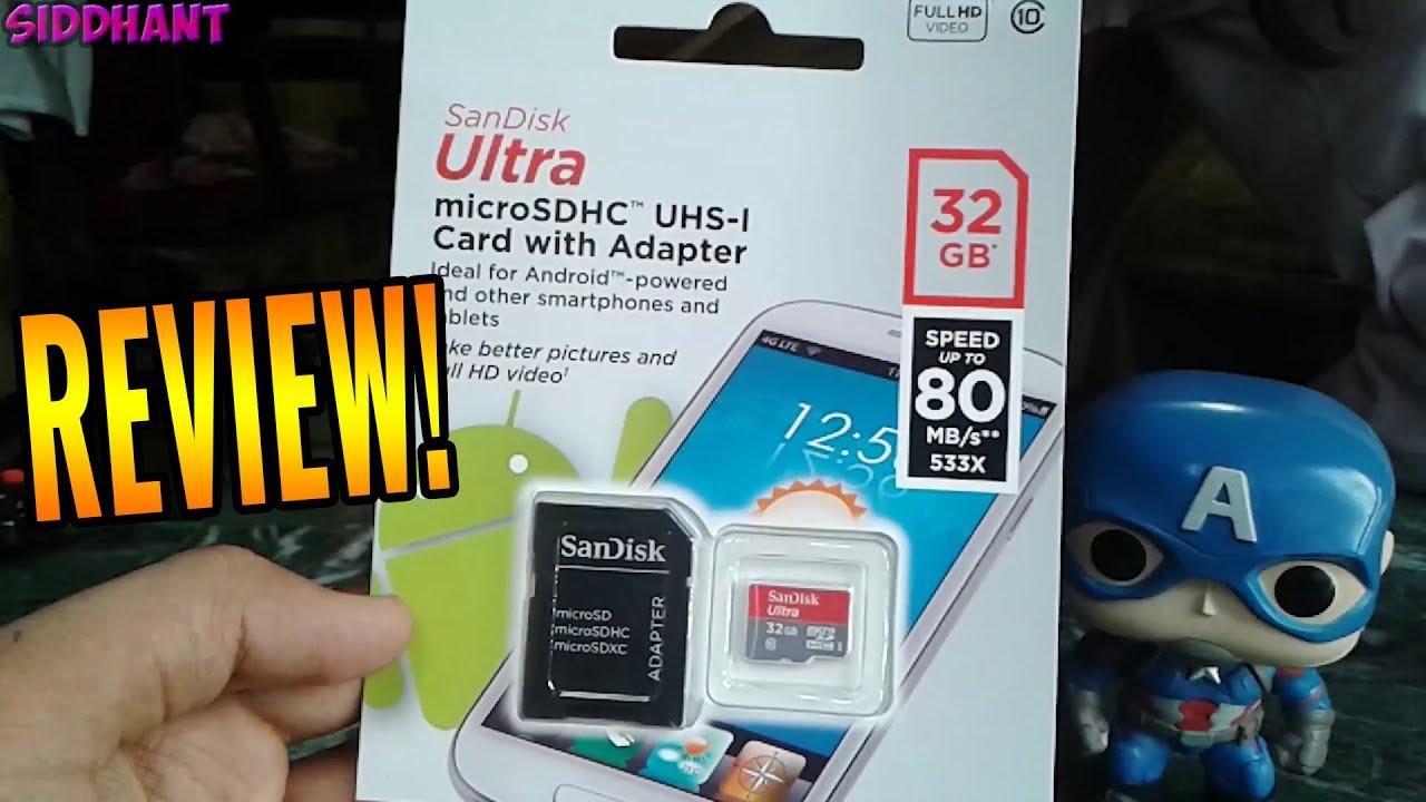 Sandisk 32GB Ultra Micro SDHC