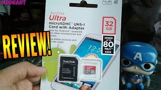 Sandisk 32GB Ultra Micro SDHC - UHS Class 10 Card With Adapter-The Best Micro Sd Card Money Can Buy!