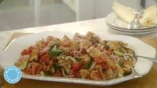 Fresh Garden Vegetable Italian Panzanella - Martha Stewart