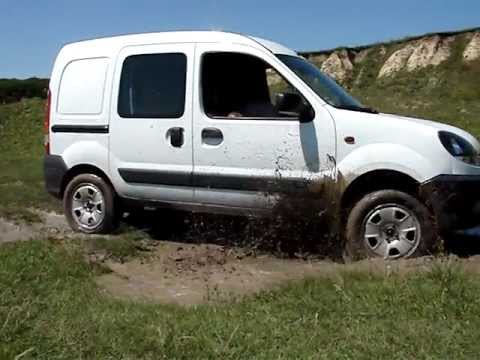 renault kangoo 1 9 dci 4x4 youtube. Black Bedroom Furniture Sets. Home Design Ideas
