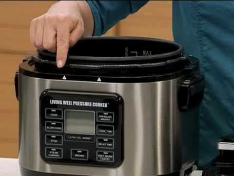 living well pressure cooker - part 1 : getting started - youtube