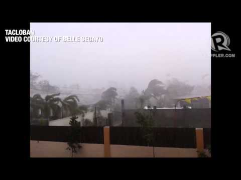 Tacloban battered by typhoon Yolanda Travel Video
