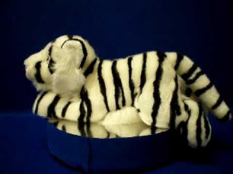 White Tiger Plush Stuffed Animal Toy At Anwo Com Animal World Youtube
