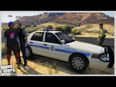 ATTACKING & ESCAPING FROM THE COPS | FUNNY ONLINE ROLE-PLAY (GTA 5 CUSTOM ROLE-PLAY SERVERS)