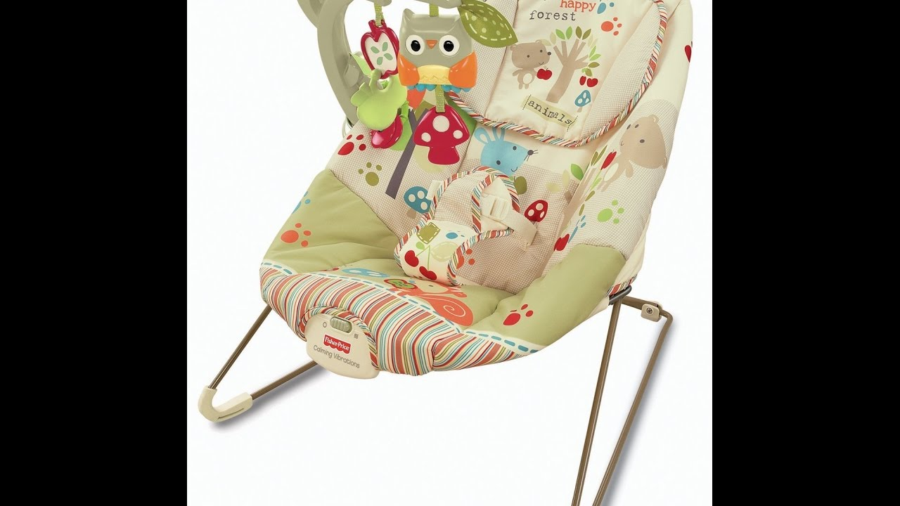 Fisher Price Woodsy Friends Comfy Time Bouncer Youtube
