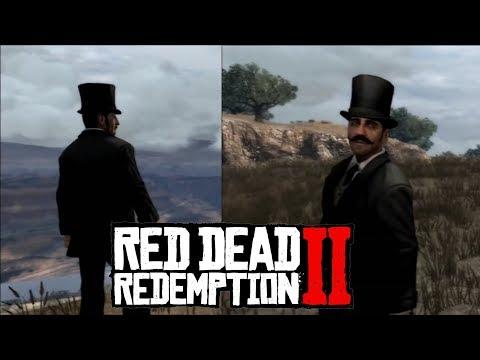 Тайна, которую мы никогда не разгадаем! Странный человек в Red Dead Redemption 2