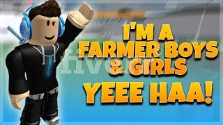 i'm a famer boys & girls yee haa roblox