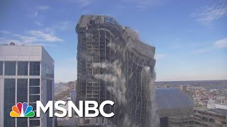 The End For Atlantic City's Trump Plaza | MTP Daily | MSNBC
