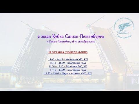 2 этап Кубка Санкт-Петербурга, 28.10.2019