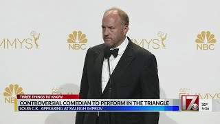 Controversial comedian Louis C.K. to play at Cary comedy club
