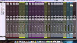 Mixing Console Templates In Your DAW - TheRecordingRevolution.com