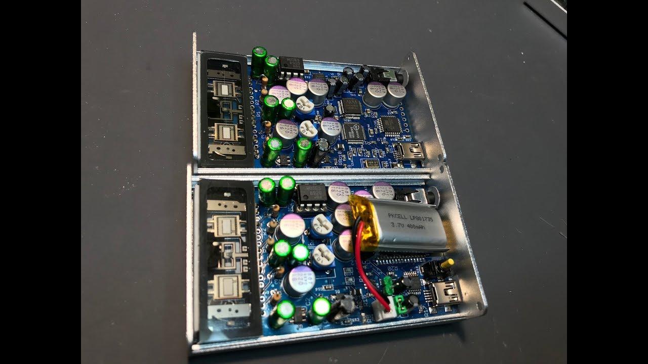 Ultra Nutube headphone amplifier from microwavemont on Tindie