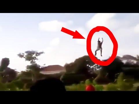 NGAKAK ! Video Orang Terbang Gara-gara Layang-Layang 2016