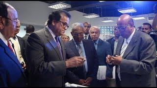وزير التعليم العالي يفتتح إنشاءات جديدة بجامعة النيل