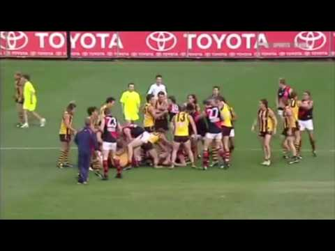 Top 9 AFL all-in brawls