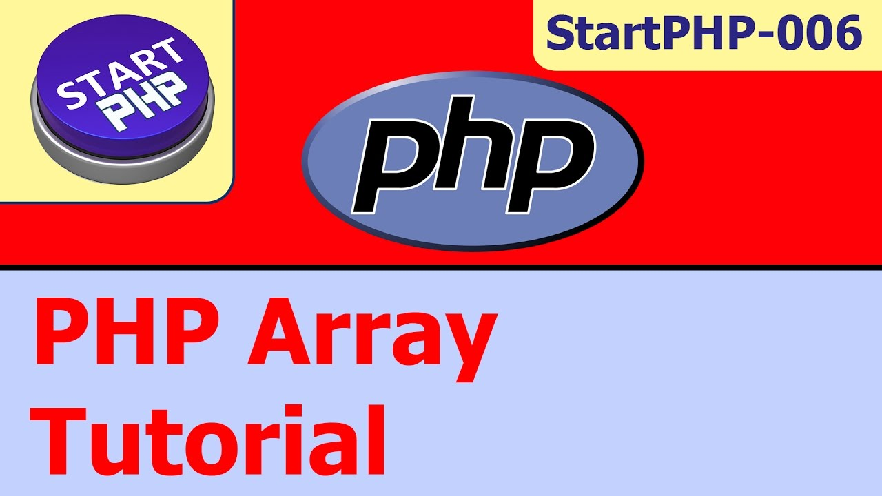 PHP Array for absolute beginners #StartPHP-006