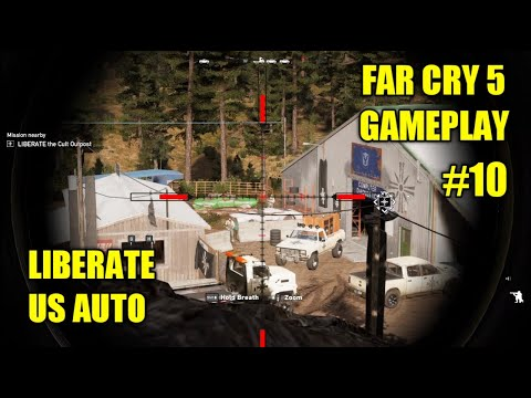FAR CRY 5 - Liberate US Auto (Gameplay #10) |