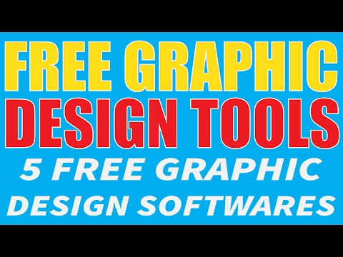 FREE Design Software - FREE Graphics Applications | The 5 Best Free Graphic Design Tools