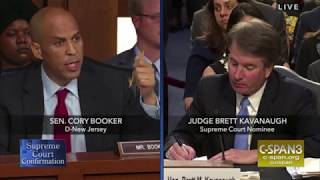 Booker on Kavanaugh nomination: Somehow this is rigged
