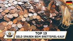 Top 13 Wege zum Geld sparen beim Brettspiel-Kauf