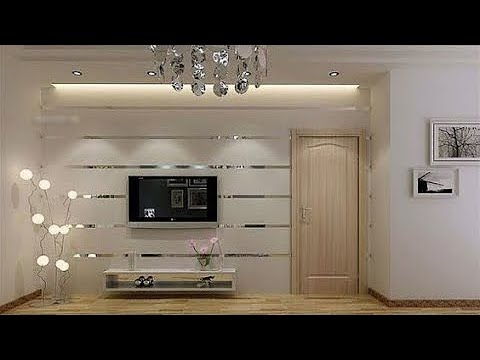 STYLISH WALL TV UNIT DESIGN IDEAS
