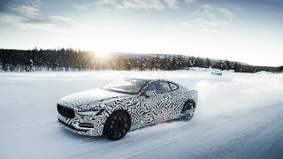 Polestar 1 prototype extreme winter test drive