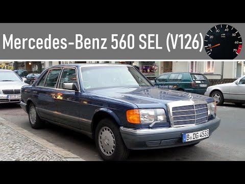 Mercedes-Benz 560 SEL (V126) Nautikblau 929 - eine Ausfahrt