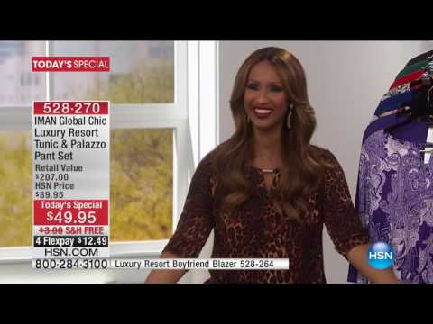 HSN | IMAN Global Chic Fashions 03.19.2017 - 05 PM
