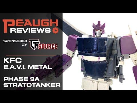 Video Review: KFC E.A.V.I. Metal Phase 11A - STRATOTANKER