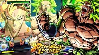 Dragon Ball Legends - NEW DBS Super Saiyan Broly Online Pvp Battles!