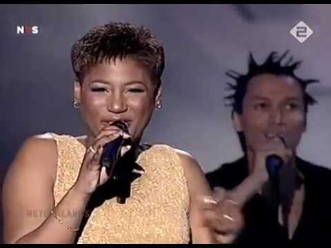Edsilia Rombley   Hemel En Aarde HD   Eurovision Song Contest 1998
