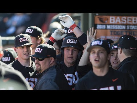 Oregon State Beavers - Beavs garner split against Stanford with a 5-2 win in Palo Alto!