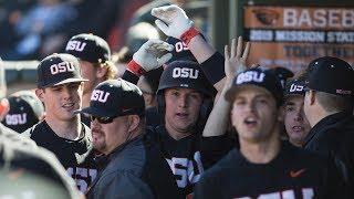 Recap: No. 12 Oregon State baseball splits a rain-shortened series with No. 3 Stanford