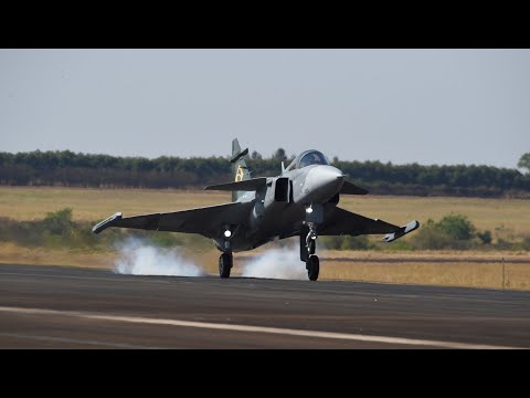 The best of #GRIPEN's first flight in Brazil
