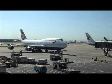 BA 38 First Class - PEK - LHR (T5) Boeing 747-400 (G-BNLV)
