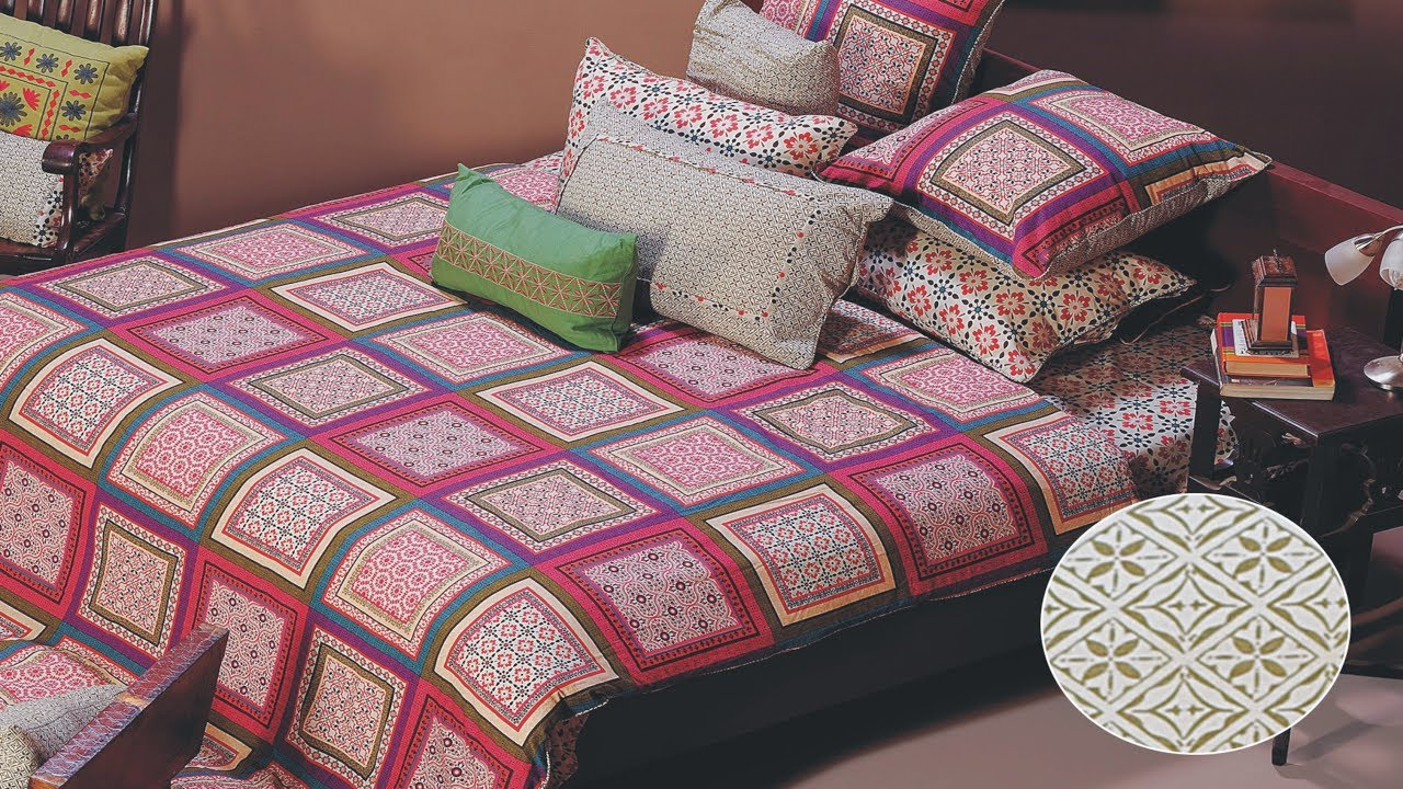 Latest Designer Top Bedsheet Design Ideas by Gul Ahmed | New