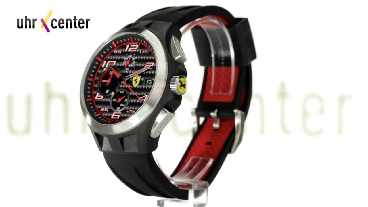 ferrari scuderia 0830015 chronograph herren armbanduhr. Black Bedroom Furniture Sets. Home Design Ideas