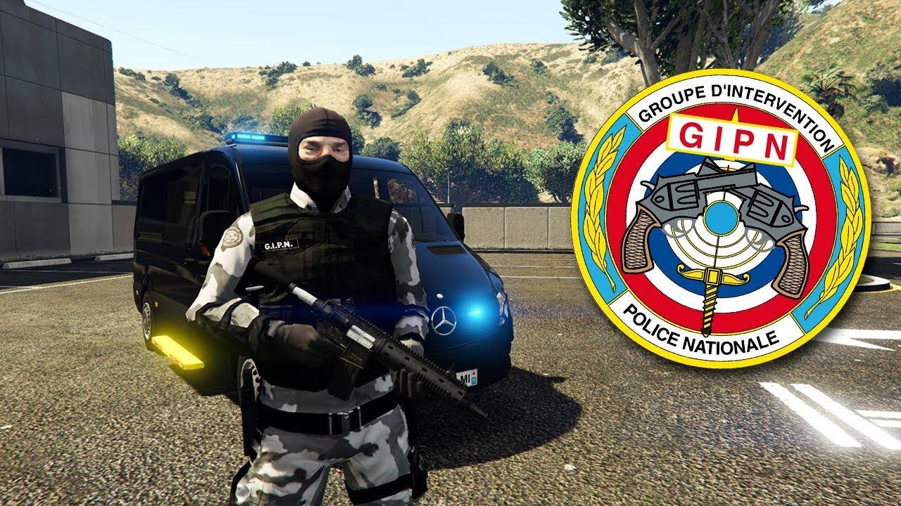 POLICE NATIONALE - GIPN - LSPDFR GTA 5 MODS