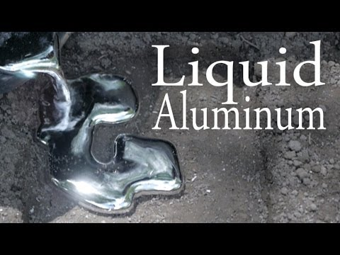 how-to-melt-aluminum-with-a-hole-in-the-ground