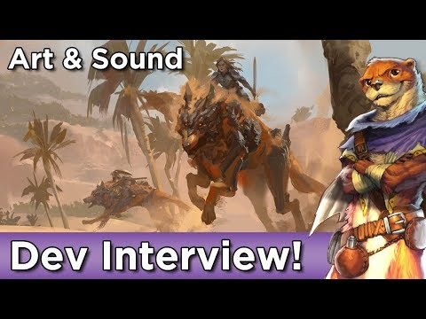 Art & Sound Interview with ArenaNet Devs ► Guild Wars 2 Path of Fire Expansion