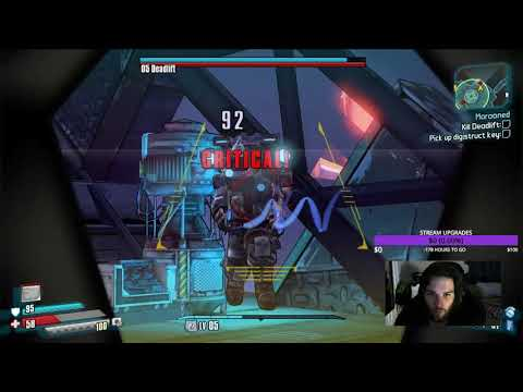 Borderlands Pre sequel 1st boss killed in 49 seconds