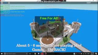 ROBLOX Mad Games 12k LP Code!