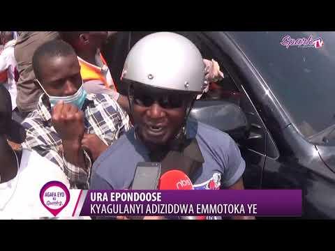 Download URA EPONDOOSE :Kyagulanyi adiziddwa emmotoka ye