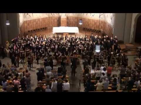 """""""Missa de la Coronació"""" de W. A. Mozart (9-4-2011) Granollers (Part I i II)"""